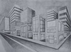 34 best 2 point perspective cities images 2 point perspective