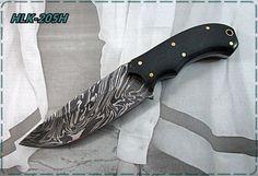 Damascus Custom Made Hunting Knife,Two Tune Micarta Handle.HLK-205H #Homelandknives