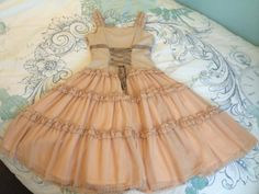Victorian Maiden Petal Frill Bustier JSK 2009 « Lace Market: Lolita Fashion Sales and Auctions