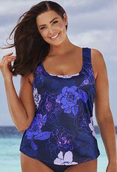#NewYear #SwimsuitsForAll - #Beach Belle Morning Glory Classic Top - AdoreWe.com