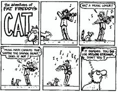 Fat freddie comic strip