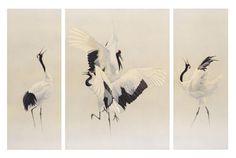 Wildlife Artwork - 'Dance of the Cranes' - Wildlife Art, Wildlifeart & Wildlife Artist Crane Dance, Dramatic Arts, Watercolor Bird, Art Studies, Wildlife Art, Chinese Painting, Deco, Graphic Art, Art Projects