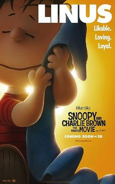 Peanuts Movie Poster : Linus Character
