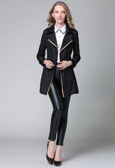 cf1ddb399e8 Luxusní dámský kabátek s knoflíky – námořnický styl – černý – Velikost L Na  tento produkt se vztahuje nejen zajímavá sleva