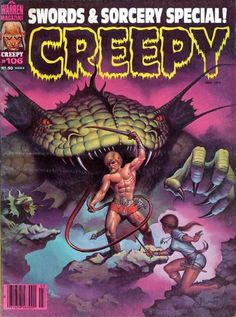 Cover for Creepy (Warren, 1964 series) #106 March 1979