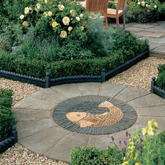 Feature Paving | Centre Piece Ideas | Paving Designs & Ideas