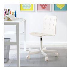 Beau JULES Childu0027s Desk Chair   White   IKEA