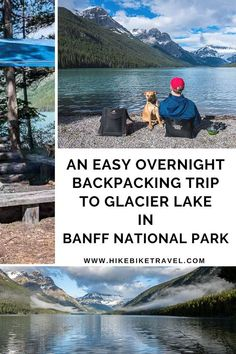 An easy overnight backpacking trip to Glacier Lake, Banff National Park Banff National Park, National Parks, National Landmarks, Glacier Lake, Canadian Travel, Parks Canada, Urban Park, Visit Canada, Solo Travel