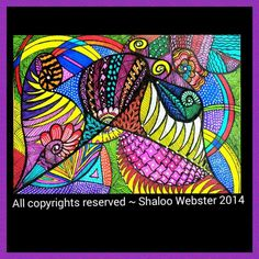 """My new art """"Yin ~Yang""""     All copyrights reserved ~ Shaloo Webster 2014"""
