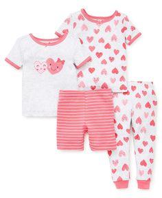 Baby & Toddler Clothing Girls' Clothing (newborn-5t) Cooperative Carter's Christmas Winter Fleece Pajamas 3t Girls Modern Techniques