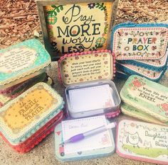 Upcycled Altoid Tin Prayer Box