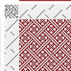 draft image: Page 37, Figure 5, Revised Edition of Textile Design Book, Emil Jansen, 14S, 14T