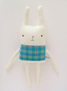 Plush Bunny Friend - Valentine's Day - Finkelstein's Center Handmade Creature