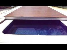 Deck Retrátil e Automático para Piscinas - YouTube