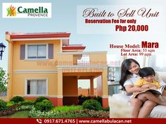 Built to Sell | On-Going Units now available for reservation, for only Php 30,000 you can already avail our very own Mara Model House. Hurry!! Reserve this Unit Now! Just contact our trusted digital marketing team to assist you.   For more inquiries and FREE site tripping, you may reach us through: 0917-671-4765 (Globe) 0926-525-8029 (Smart) (+63) 905-436-2387 Email: camellaprovenceofficial@gmail.com Visit us: www.camellabulacan.net/malolos www.facebook.com/CamellaProvenceOfficial