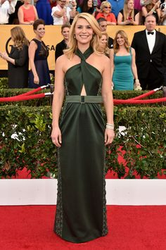 Claire Danes in Marc Jacobs at the SAG Awards