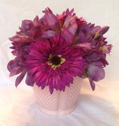 Purple pleasure bouquet by SatoriArts on Etsy, $20.00
