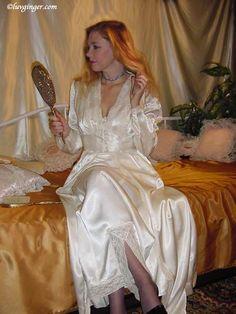 The Emergence of Silk Lingerie Satin Underwear, Satin Lingerie, Pretty Lingerie, Vintage Lingerie, Beautiful Lingerie, Lingerie Sleepwear, Sexy Lingerie, Lingerie Drawer, Pyjama Satin