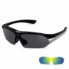 7393ade55b Top 10 Best Sport Sunglasses in 2019 - Best For Driving Sport Activity. Sports  Sunglasses with 2 ...