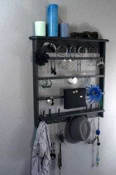 wall mounted jewelry organizer  Klutter Killer by kevinearle, $60.00