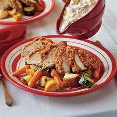 Baked Pecan Chicken Recipe | MyRecipes.com