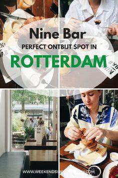 Nine Bar Rotterdam - Perfecte hotspot om je dag in Rotterdam te beginnen Europe Must See, Travel Around Europe, Europe Travel Tips, Travel Around The World, Travel Guides, Travel Destinations, European Destination, European Travel, Perfect Breakfast