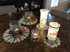 Victorian Lace, Linens, Table Decorations, Ornaments, Fall, Gifts, Inspiration, Furniture, Beautiful