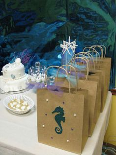 Mermaids / Under the Sea Birthday Party Ideas | Photo 11 of 12 | Catch My Party
