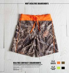 8b1f87d5a8 2015 Realtree Max-4 Camo Board Shorts Realtree Camo