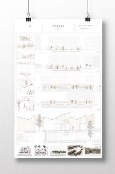 Design Presentation, Architecture Presentation Board, Project Presentation, Architectural Presentation, Presentation Boards, Architectural Models, Architectural Drawings, A As Architecture, Architecture Graphics
