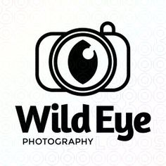 Wild Eye Photography logo, it is very bland but also very interesting because of the image. using the camera lens as in eye is very original. I think a little colour could have been added in the eye to make it more eye catching, but the big type makes it stand out a lot.