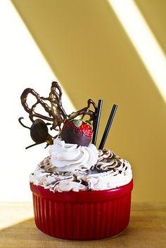 Root Beer Oatmeal Stout Ramekin Cupcake