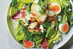 Dale Pinnock's chicken, avocado and blue cheese salad