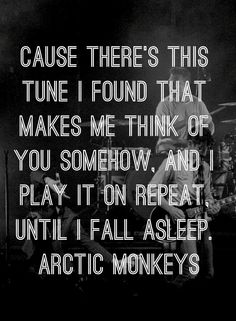 Arctic Monkeys. Do I wanna know.