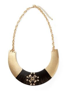 Wrapped Collar Necklace  by Sabine