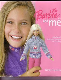 REVISTAS DE MANUALIDADES GRATIS: Barbie and me