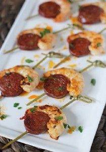 Granache wine matching Prawn and Chorizo Bites
