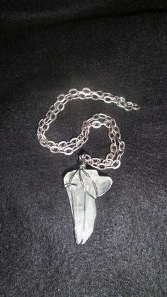 Mens clear quartz chain designed by Batu Collection.