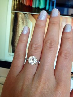 Show Me Your 2 5 Carat Rings Please Weddingbee Page 8