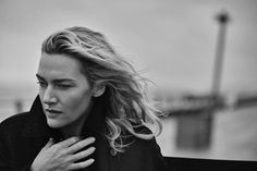 Peter Lindbergh - Kate Winslet for Vogue Italia, November 2015.