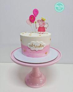 Elmo Birthday Cake, Birthday Ideas, Tortas Peppa Pig, Big Cakes, Cake Designs, Ivy, Party Themes, Cake Decorating, Birthdays