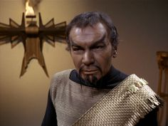 RIP Commander Kor   John Colicos (10 December 1928 – 6 March 2000; age 71)