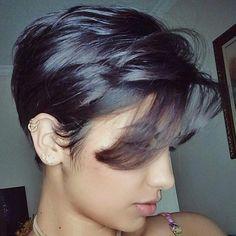 @hevilyp #pixie #haircut #short #shorthair #h #s #p #shorthaircut #hair #b #sh #haircuts