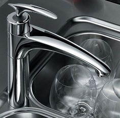 Kitchen Ultra Modern Best Contemporary Faucets Kohler Square Stainless Brushed Nickel