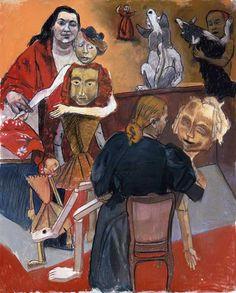 "Paula Rego, ""The Dolls' Playground"" Paula Rego Art, Galleries In London, Feminist Art, Paul Cezanne, Caravaggio, Fine Art, Pop Art, Artist Art, Illustration Art"