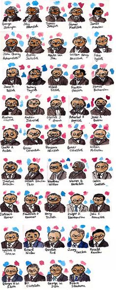 The Presidents of the United Sloths of America…