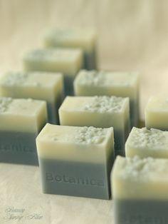 Spring Blue, Indigo blue soap, Botanica Handmade Soap