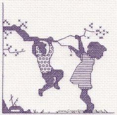 Cross Stitch Kits, Cross Stitch Charts, Embroidery & Tapestry Kits - Very Crafty Blackwork Patterns, Blackwork Embroidery, Cross Stitch Embroidery, Embroidery Patterns, Beading Patterns, Cross Stitch Baby, Cross Stitch Kits, Cross Stitch Charts, Counted Cross Stitch Patterns
