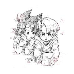 Goten and Trunks「トラと天」/「Tako8N」の漫画 [pixiv]