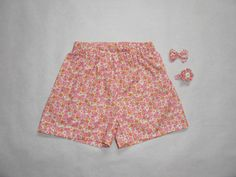 Short Belle Princesse - Lilly is Love Sewing For Kids, Baby Sewing, Short Bebe, Short Fille, Pajama Shorts, Patterned Shorts, Casual Shorts, Shirts, Outfits